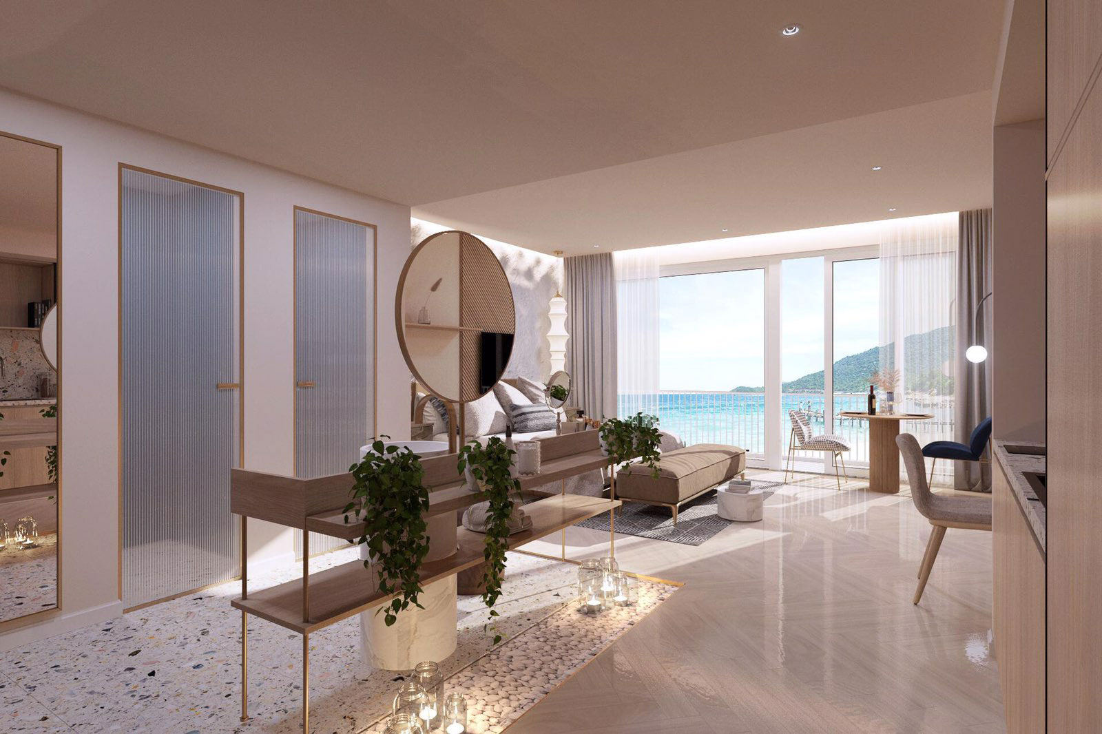 noi that 1PN shantira Luxury Condo