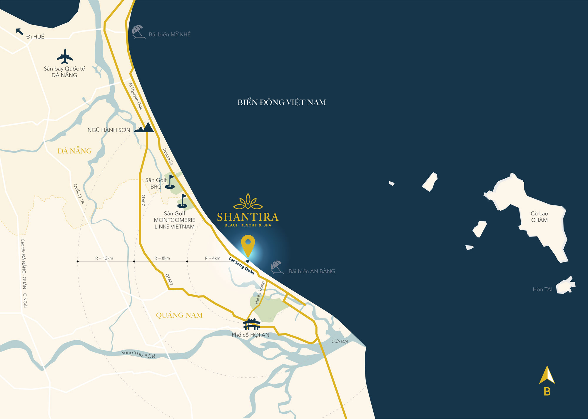 shantira beach resort and spa location