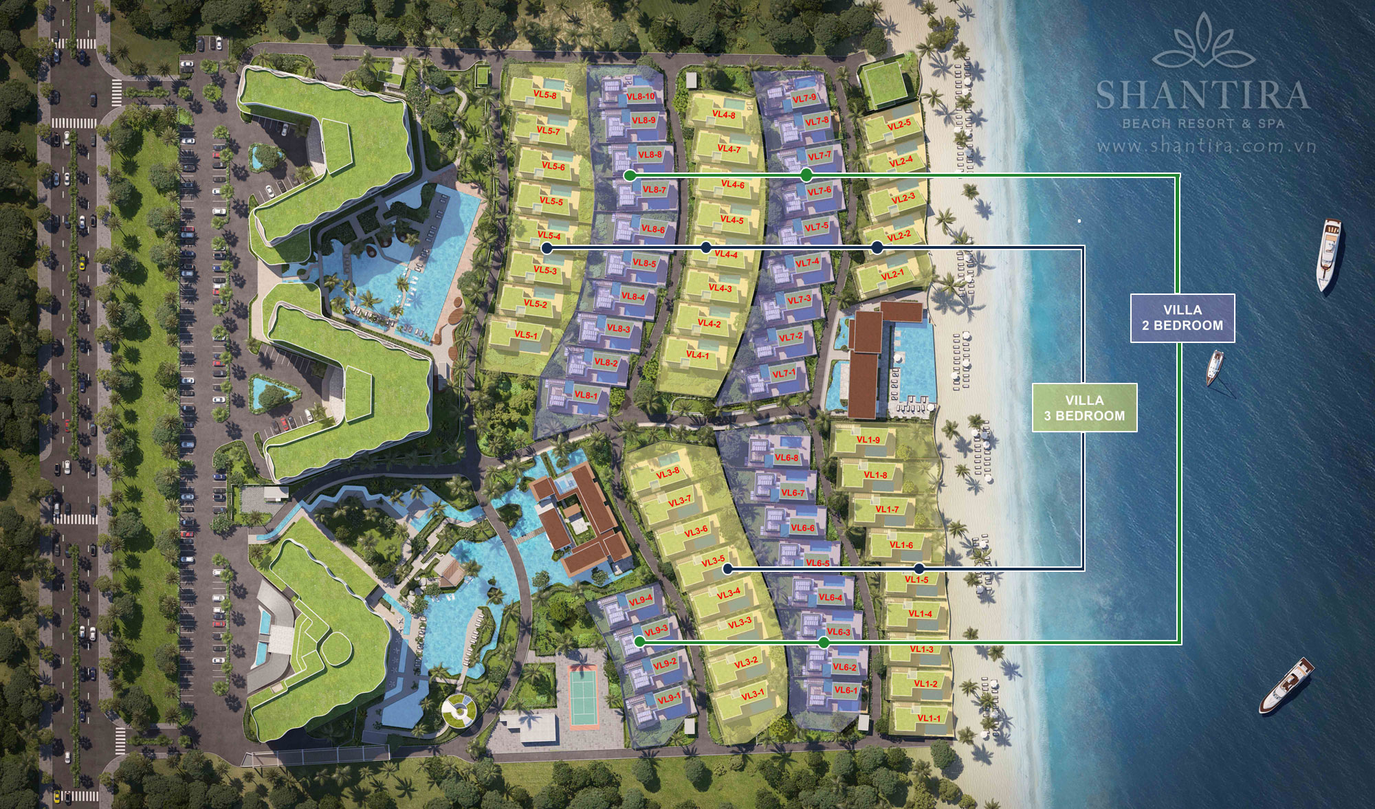 mat bang shantira beach resort and spa