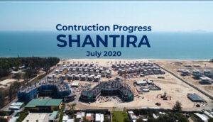 cap nhat tien do shantira resort thang 7 2020