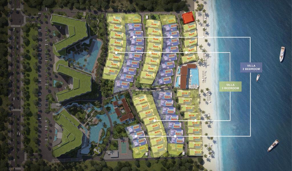 Shantira Villas Masterplan