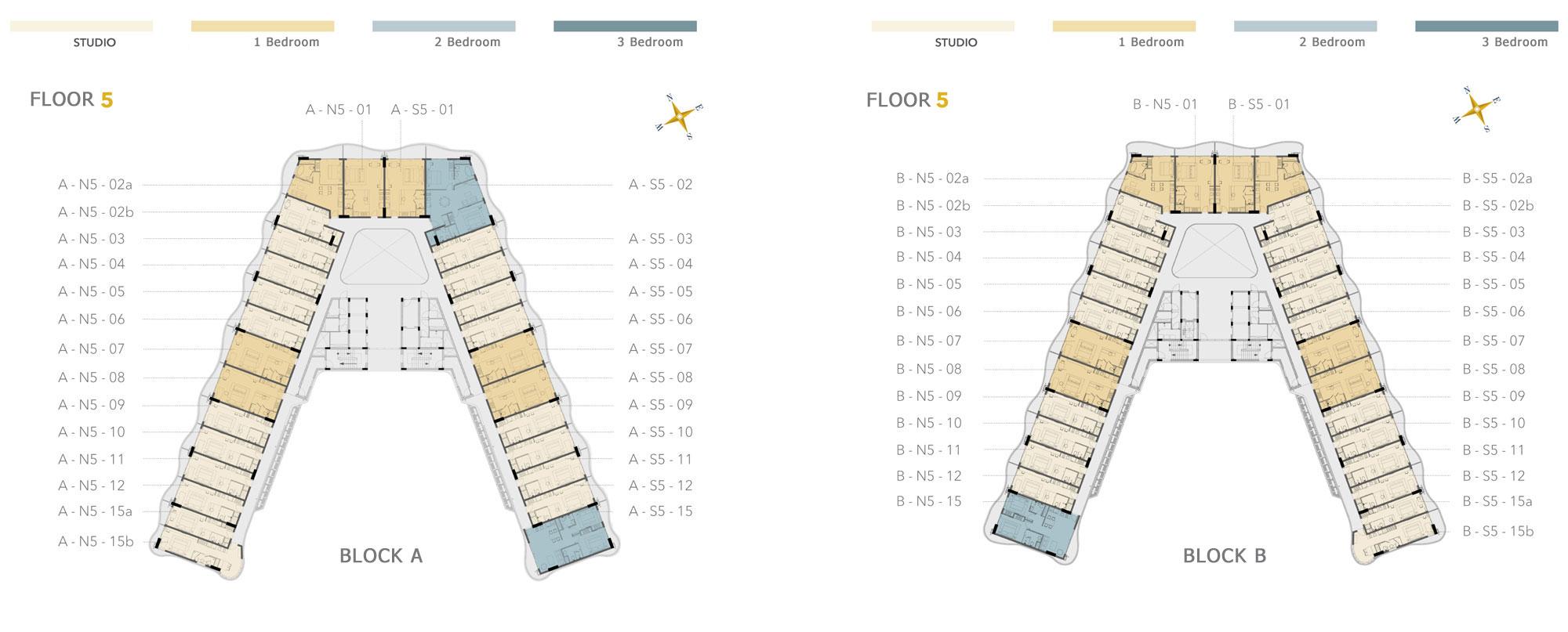 Shantira Resort Condos Floor Plan